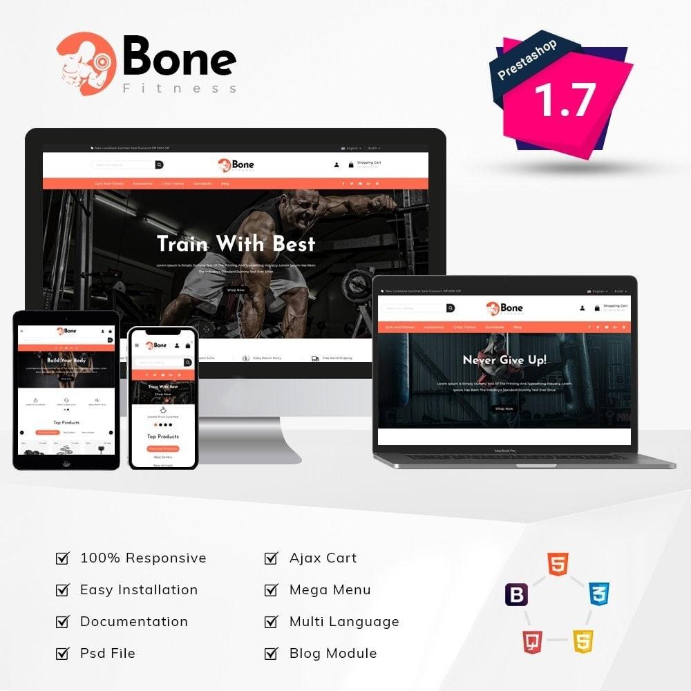 theme - Deportes, Actividades y Viajes - Bone Fitness Store - 1