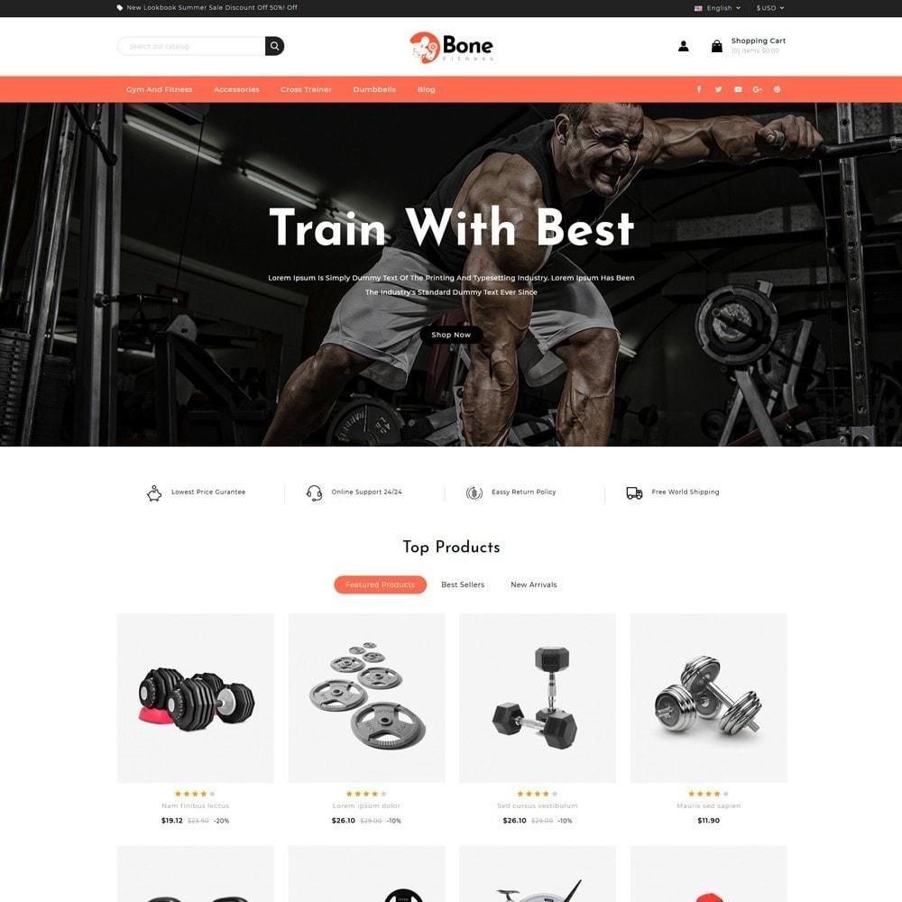 theme - Deportes, Actividades y Viajes - Bone Fitness Store - 2