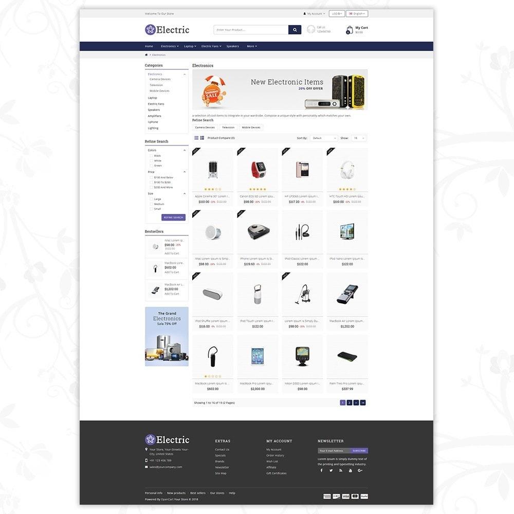 theme - Электроника и компьютеры - Electric - Electronics Store - 3