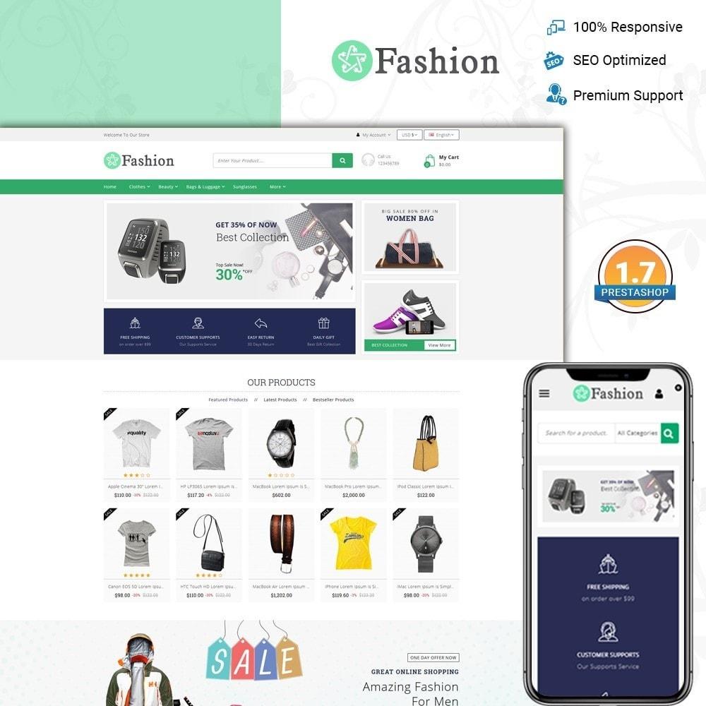 theme - Мода и обувь - Fashion Responsive Store - 1