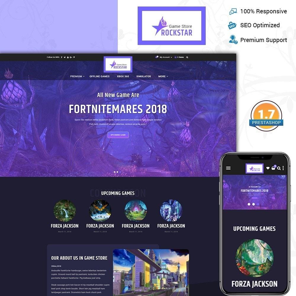 theme - Electronique & High Tech - Rockstar - Games Store - 1