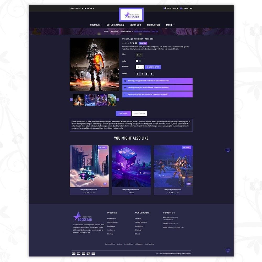theme - Electronique & High Tech - Rockstar - Games Store - 5