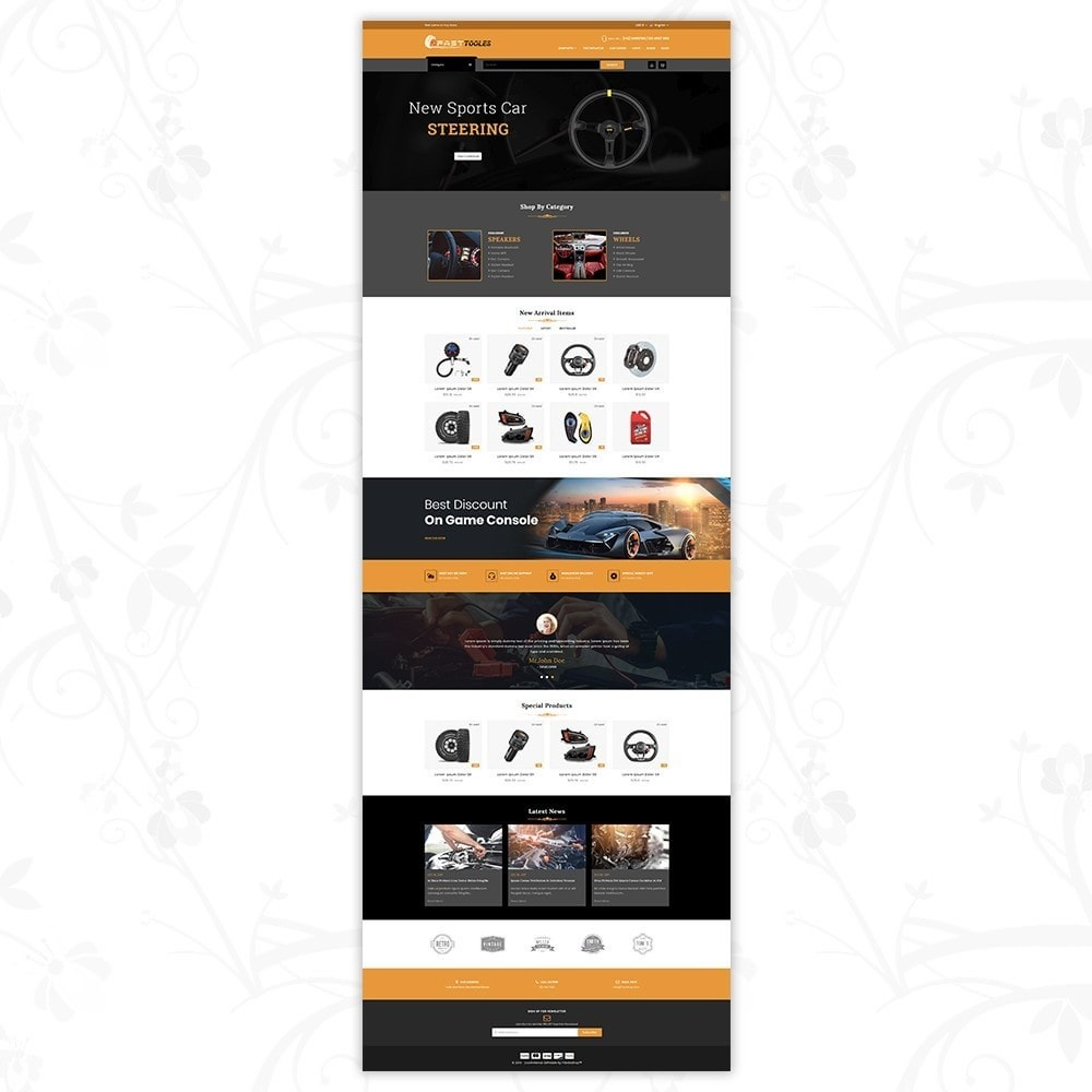 theme - Automotive & Cars - Fast Tools - 2