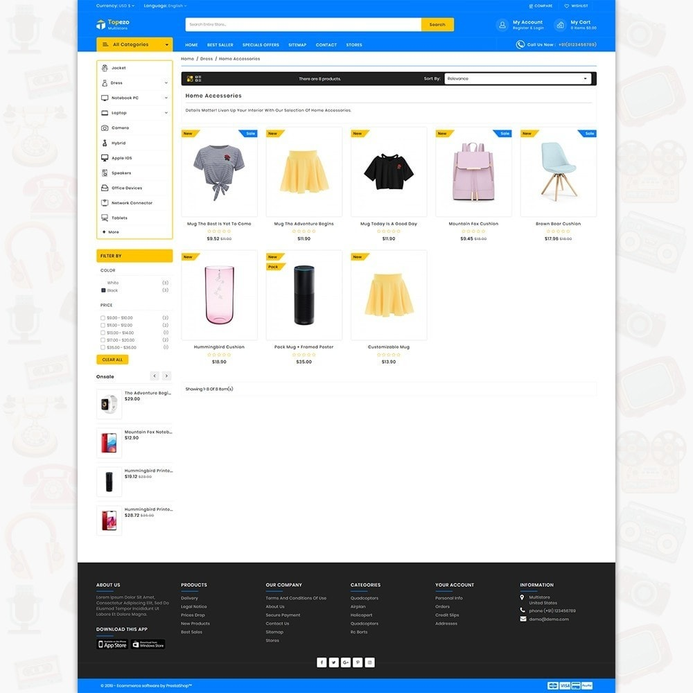 theme - Electronics & Computers - Topezo - The Best MultiStore Theme - 3