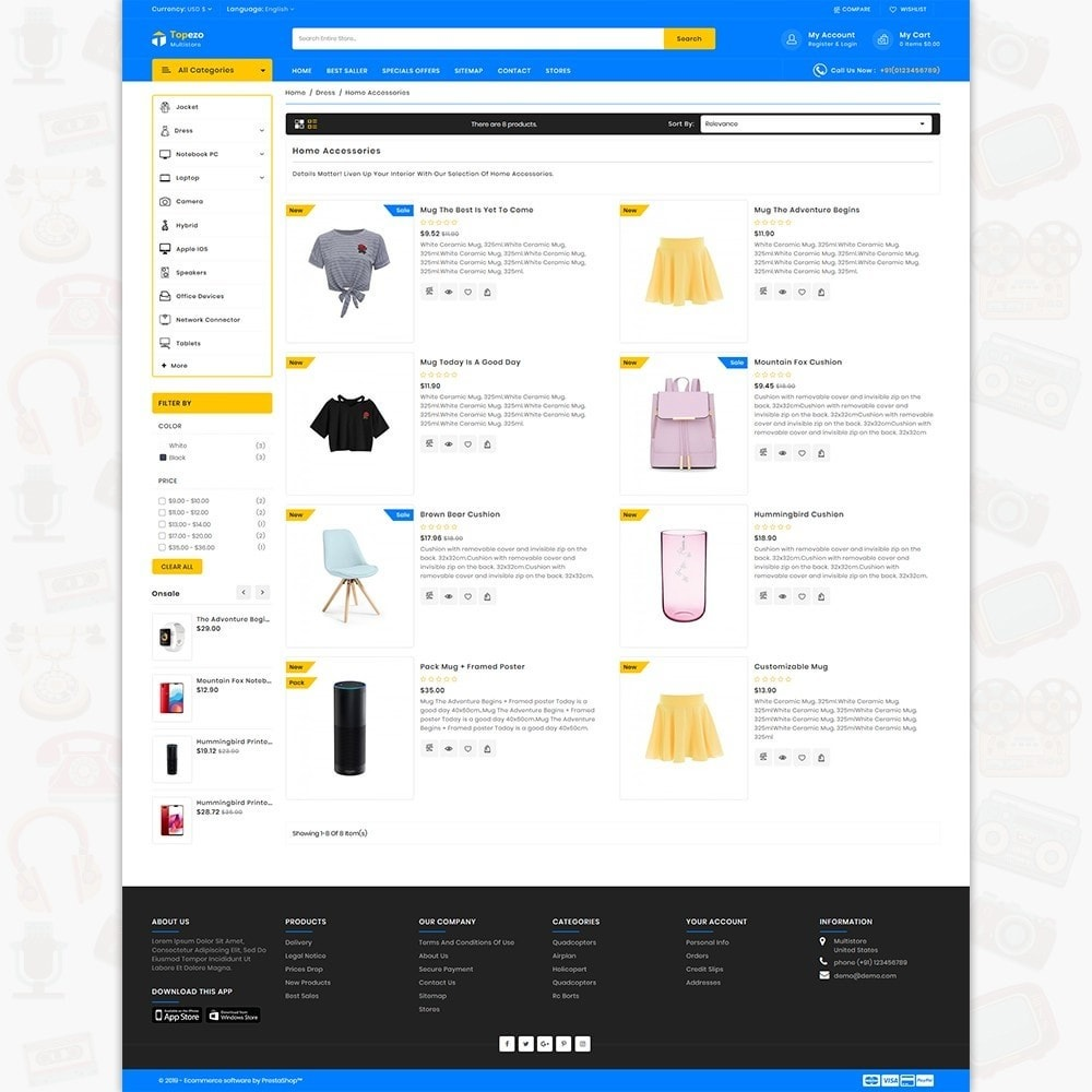 theme - Electronics & Computers - Topezo - The Best MultiStore Theme - 4