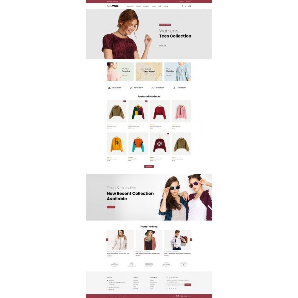 theme - Moda y Calzado - MisWar - Fashion Accessories Store - 2