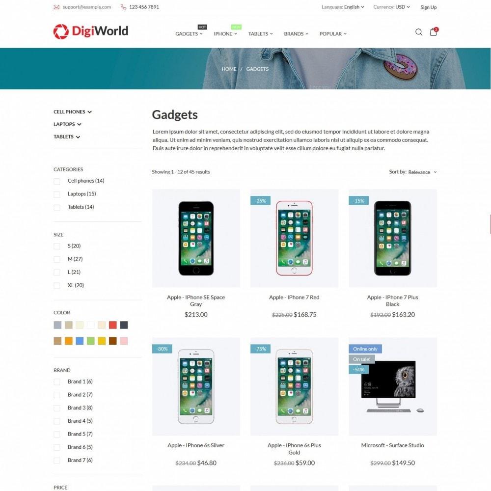 theme - Electronics & Computers - DigiWorld - High-tech Shop - 4