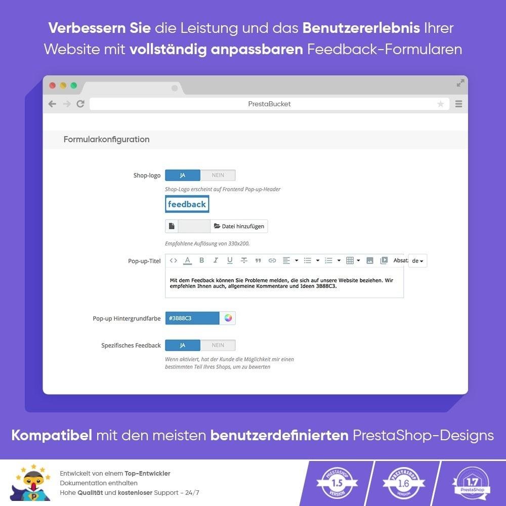 module - Kundenbewertungen - KUNDENFEEDBACK - Sammeln Sie Wichtige Informationen - 4