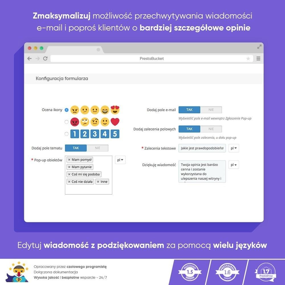module - Opinie klientów - Klient INFORMACJE ZWROTNE Zbieraj Istotne Informacje - 5