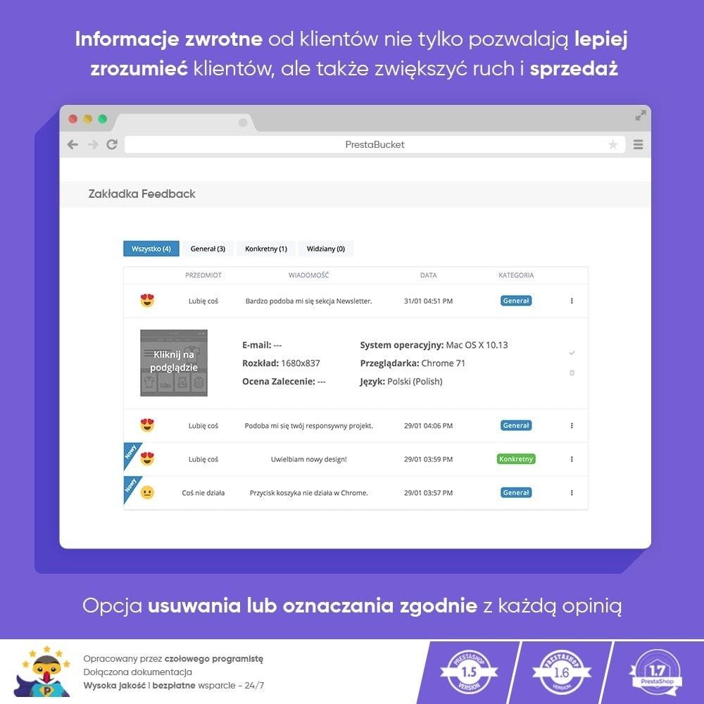 module - Opinie klientów - Klient INFORMACJE ZWROTNE Zbieraj Istotne Informacje - 6
