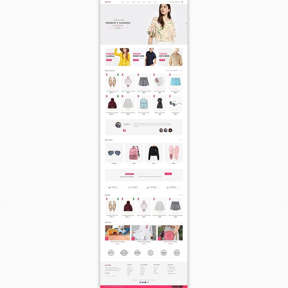 theme - Moda & Calçados - Wearpal - The Fashion Store - 2