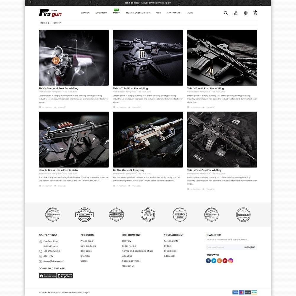 theme - Sport, Attività & Viaggi - Firegun - Gun & Weapons Store - 6