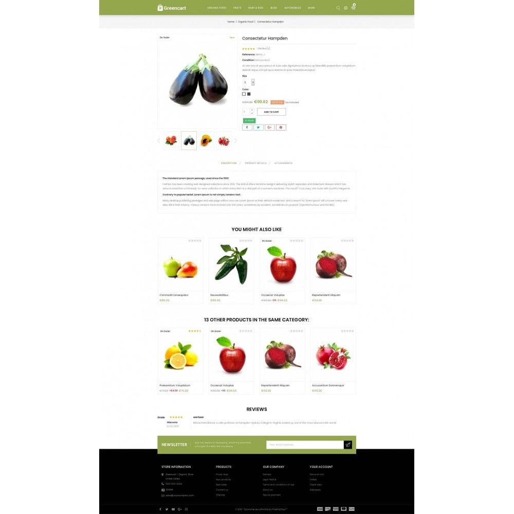 theme - Home & Garden - Green Cart - Organic Store - 5