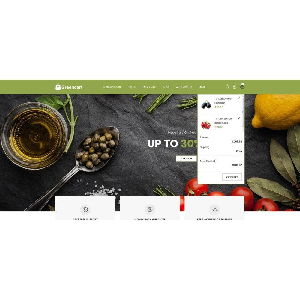 theme - Home & Garden - Green Cart - Organic Store - 6