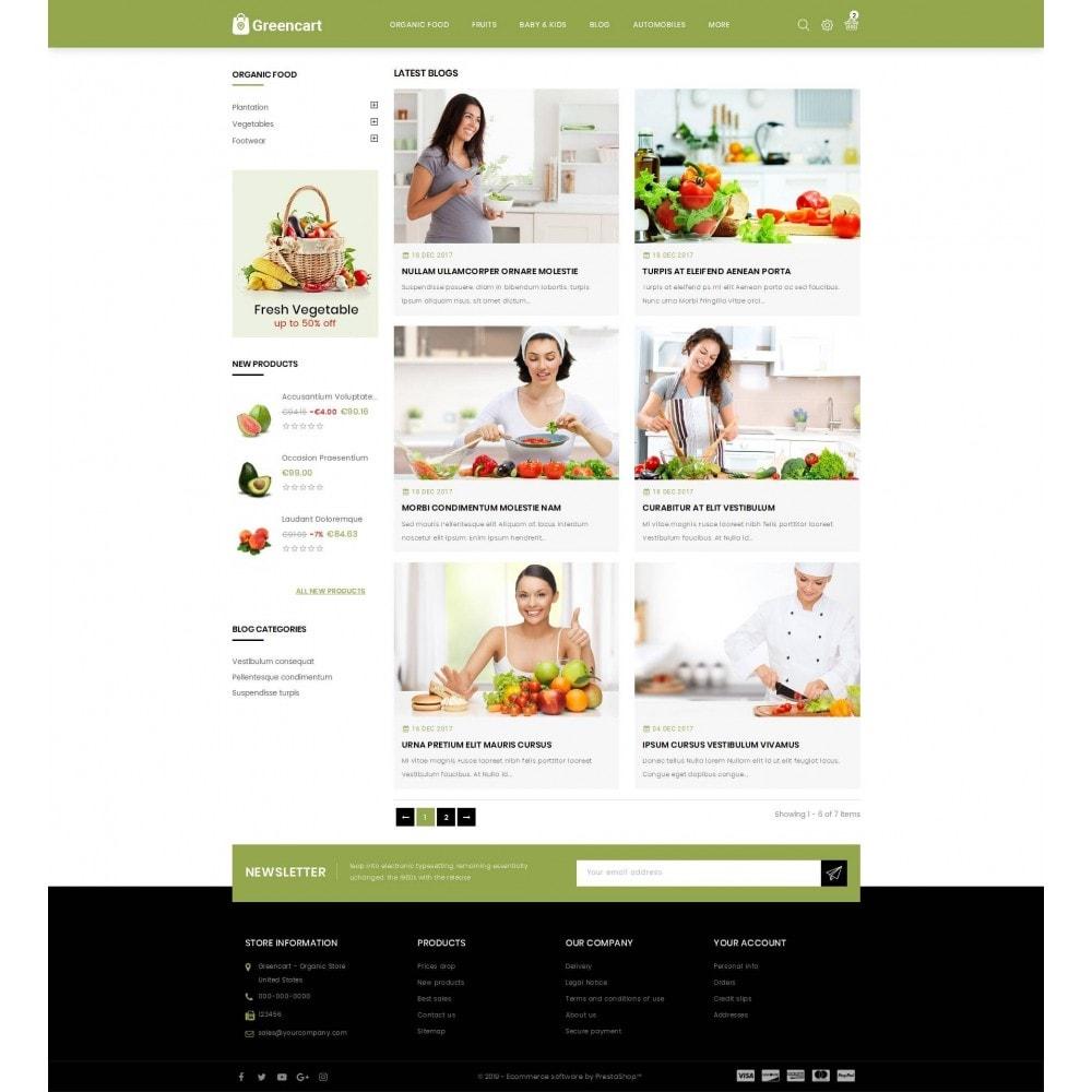 theme - Home & Garden - Green Cart - Organic Store - 9