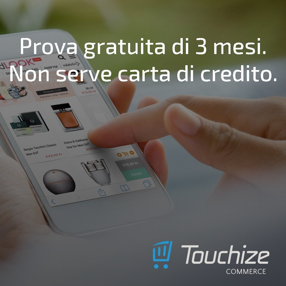 module - Dispositivi mobili - Touchize Commerce - 2