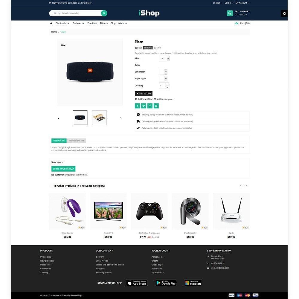 theme - Elektronik & High Tech - I Shop Electronic Store - 5
