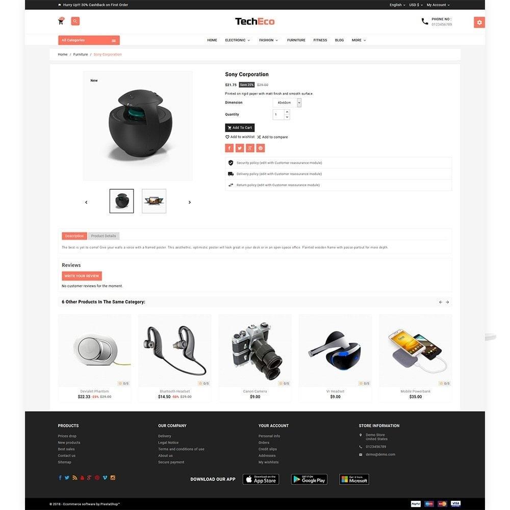 theme - Electronics & Computers - Tech Eco Electronic Shop - 5