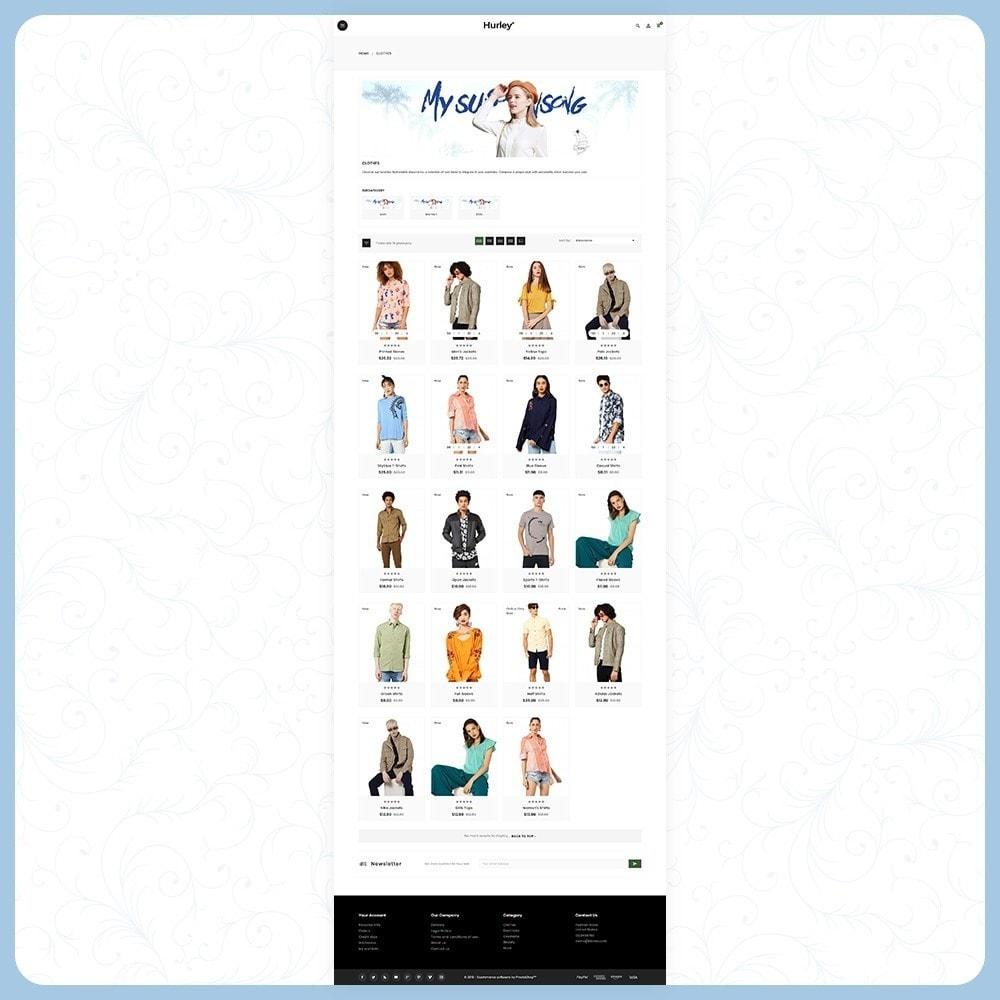 theme - Moda & Calçados - Hurley Fashion Store - 3