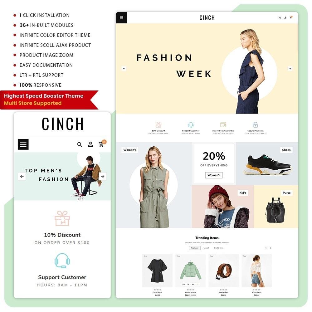 theme - Fashion & Shoes - Cinch Fashion Super Market - 1