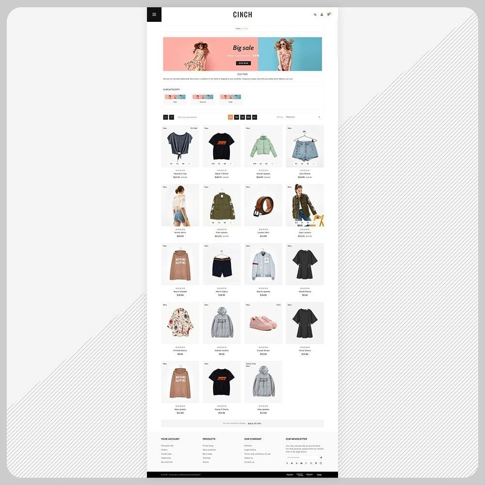 theme - Fashion & Shoes - Cinch Fashion Super Market - 3