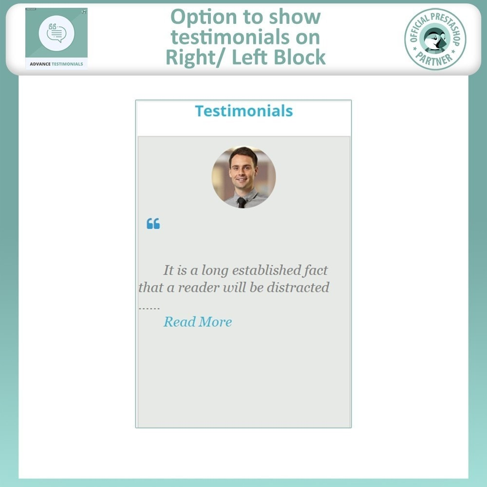 module - Recensioni clienti - Advance Testimonials - Customer Reviews with Pictures - 9