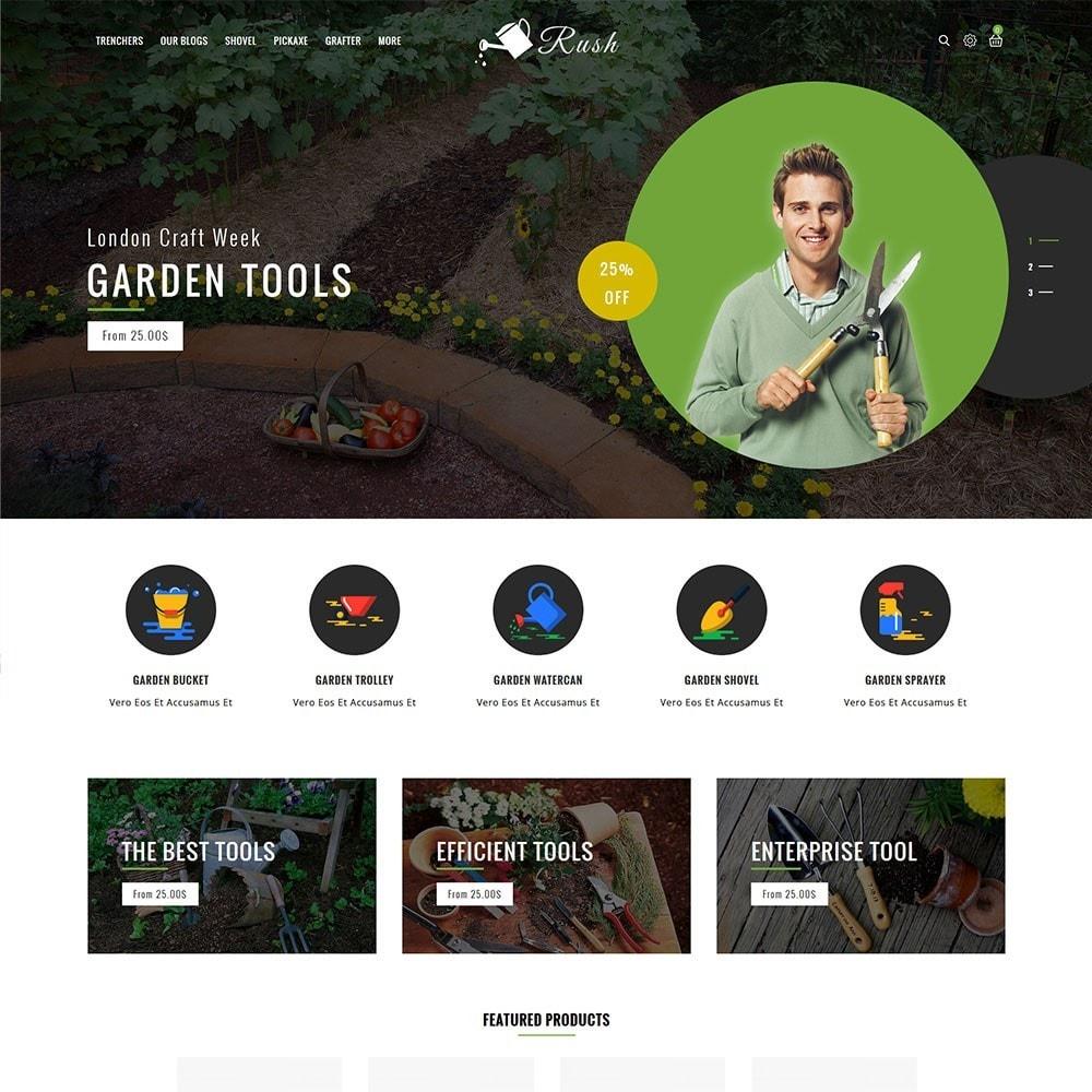 theme - Home & Garden - Rush - The Gardening Tools - 2