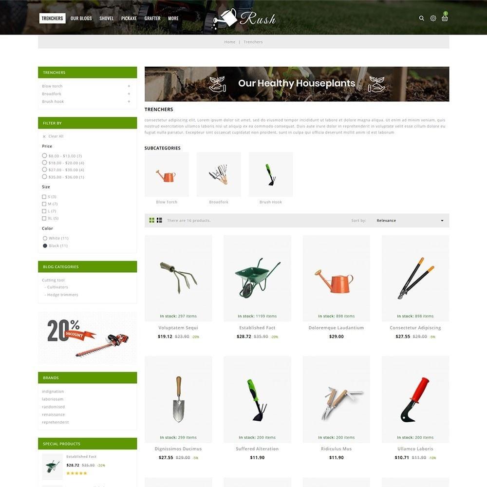 theme - Home & Garden - Rush - The Gardening Tools - 4