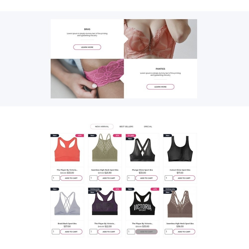 theme - Lingerie & Adultos - Lou Lee Lingerie Shop - 3