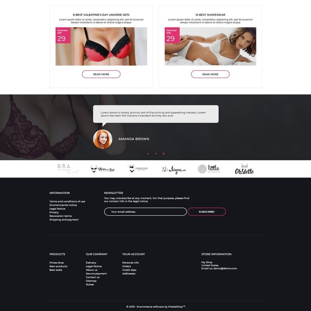 theme - Lingerie & Adultos - Lou Lee Lingerie Shop - 4