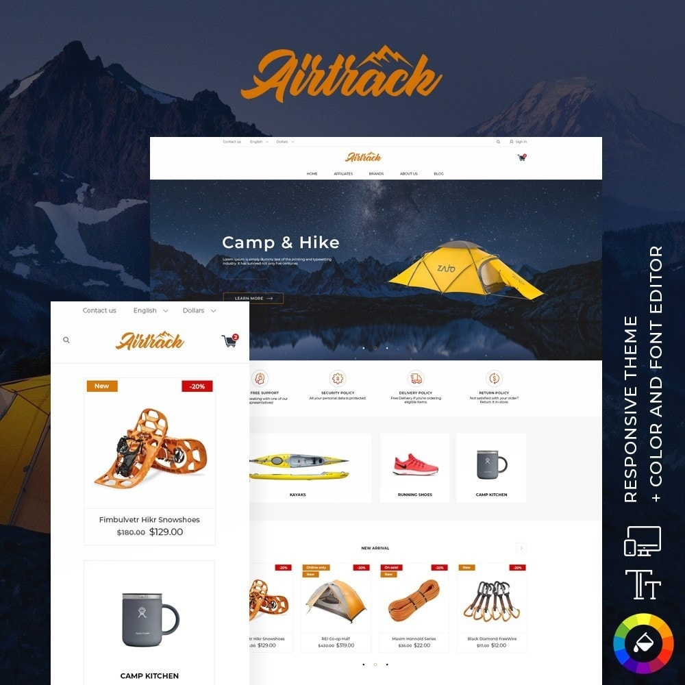 theme - Sports, Activities & Travel - Airtrack - 1