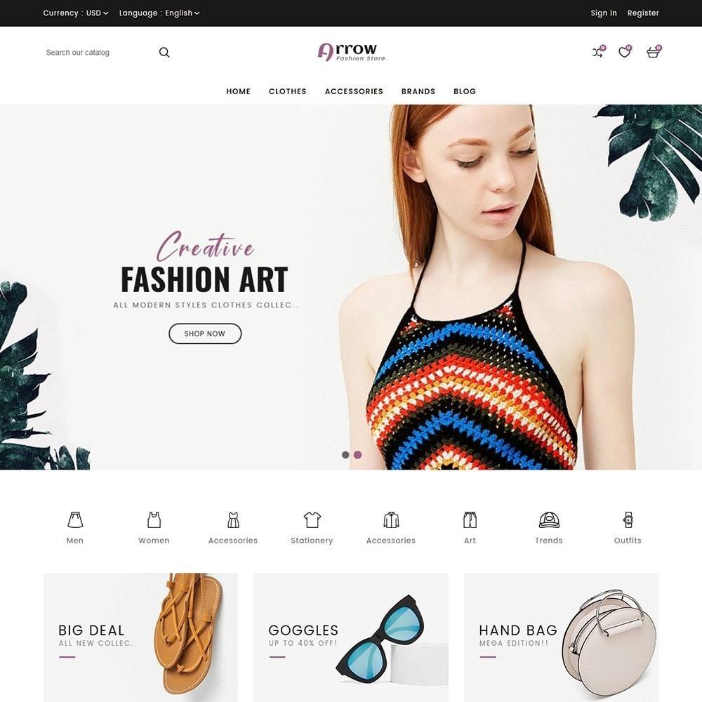 theme - Moda & Calçados - Arrow Fashion Store - 4
