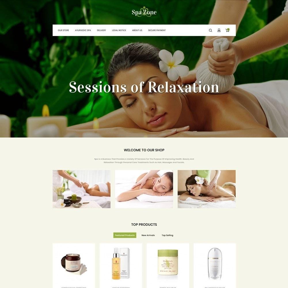 theme - Gesundheit & Schönheit - Spa-zone - De Salon, Spa Prestashop-thema - 3