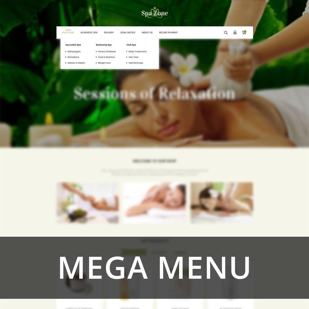 theme - Gesundheit & Schönheit - Spa-zone - De Salon, Spa Prestashop-thema - 10