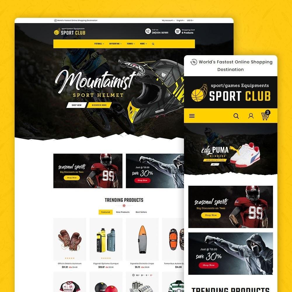 theme - Desporto, Actividades & Viagens - Mountain - Sports & Equipment - 1