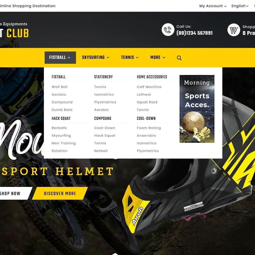 theme - Desporto, Actividades & Viagens - Mountain - Sports & Equipment - 9