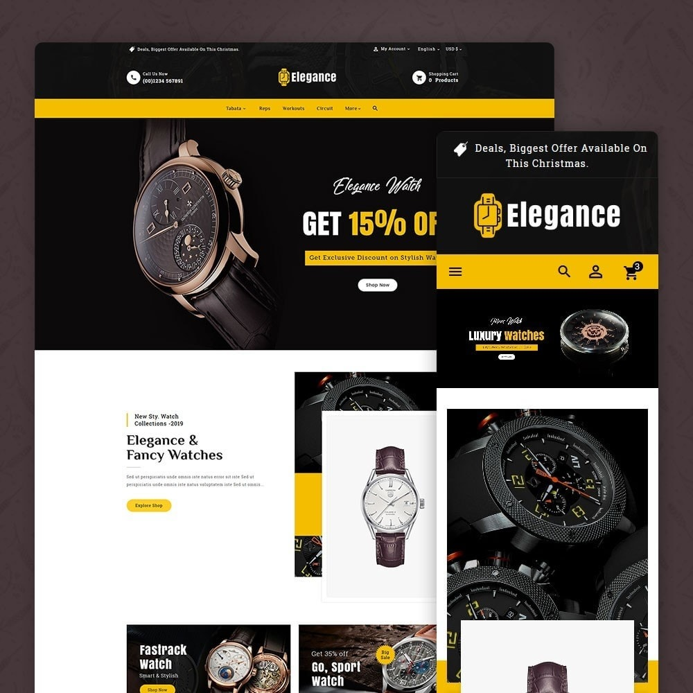 theme - Jewelry & Accessories - Elegance - Luxury Watches & Time - 1