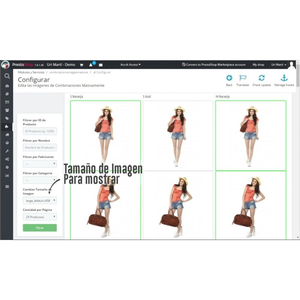 module - Combinaciones y Personalización de productos - Asignar Imágenes a Combinaciones Masivamente - 3