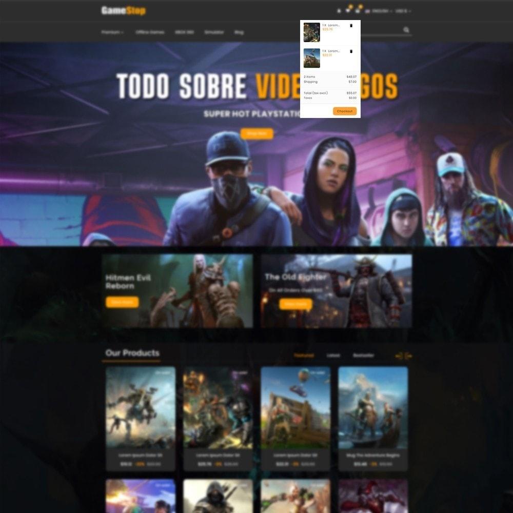theme - Sport, Activiteiten & Reizen - Game shop - 8