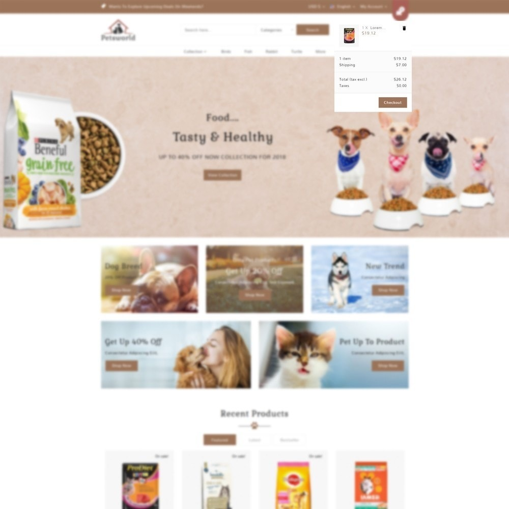theme - Dieren - Pet shop - 8