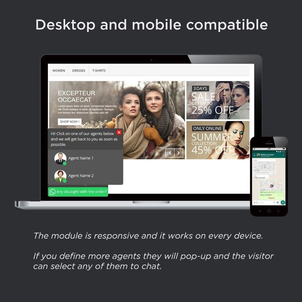 module - Wsparcie & Czat online - WhatsApp Pro, Online Visitors - 2