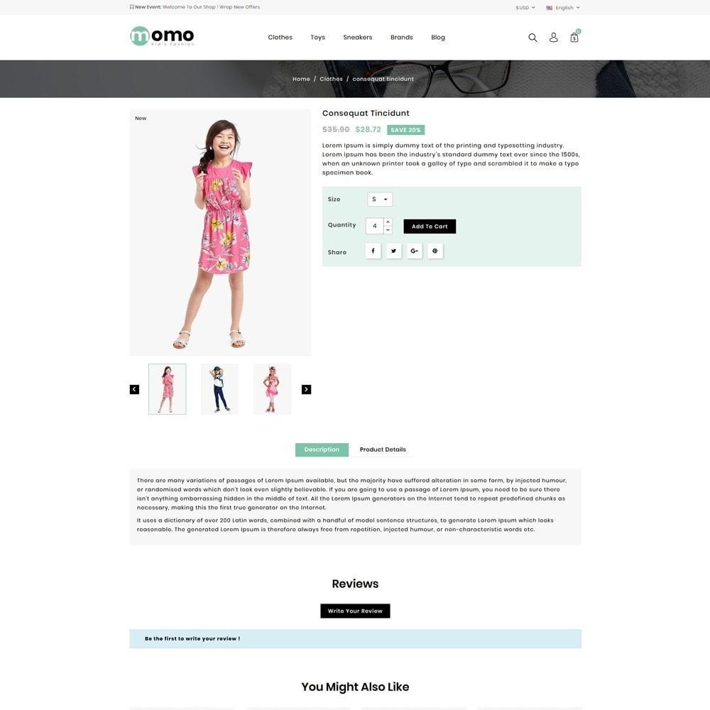 theme - Fashion & Shoes - Momo Kids Fashion Store - 4