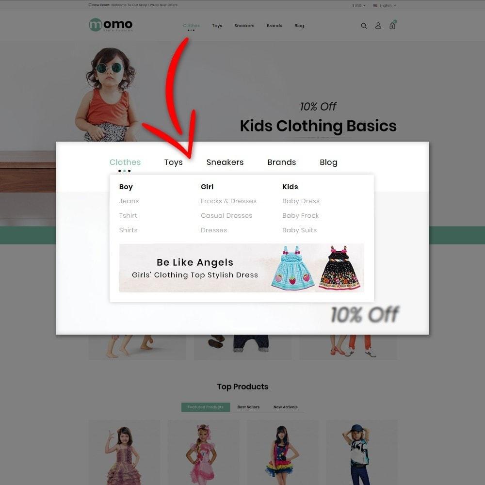 theme - Fashion & Shoes - Momo Kids Fashion Store - 7