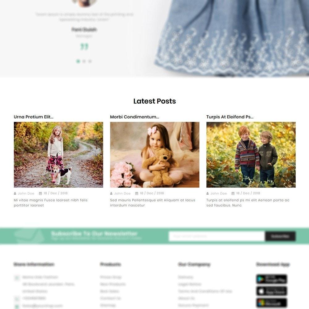 theme - Fashion & Shoes - Momo Kids Fashion Store - 8