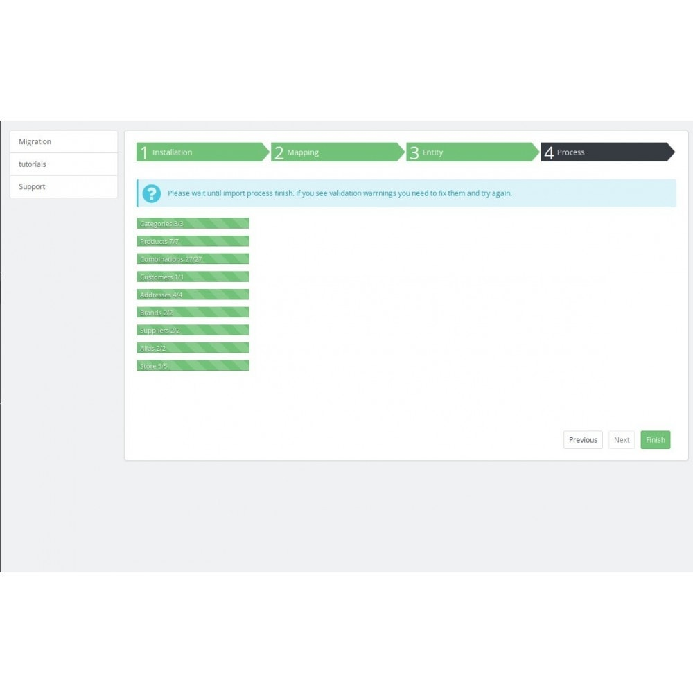 module - Importación y Exportación de datos - Advanced Migration Auto Import Export Products Customer - 4