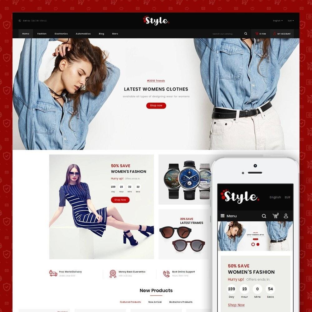 theme - Moda & Calçados - Style Accessories Store - 1