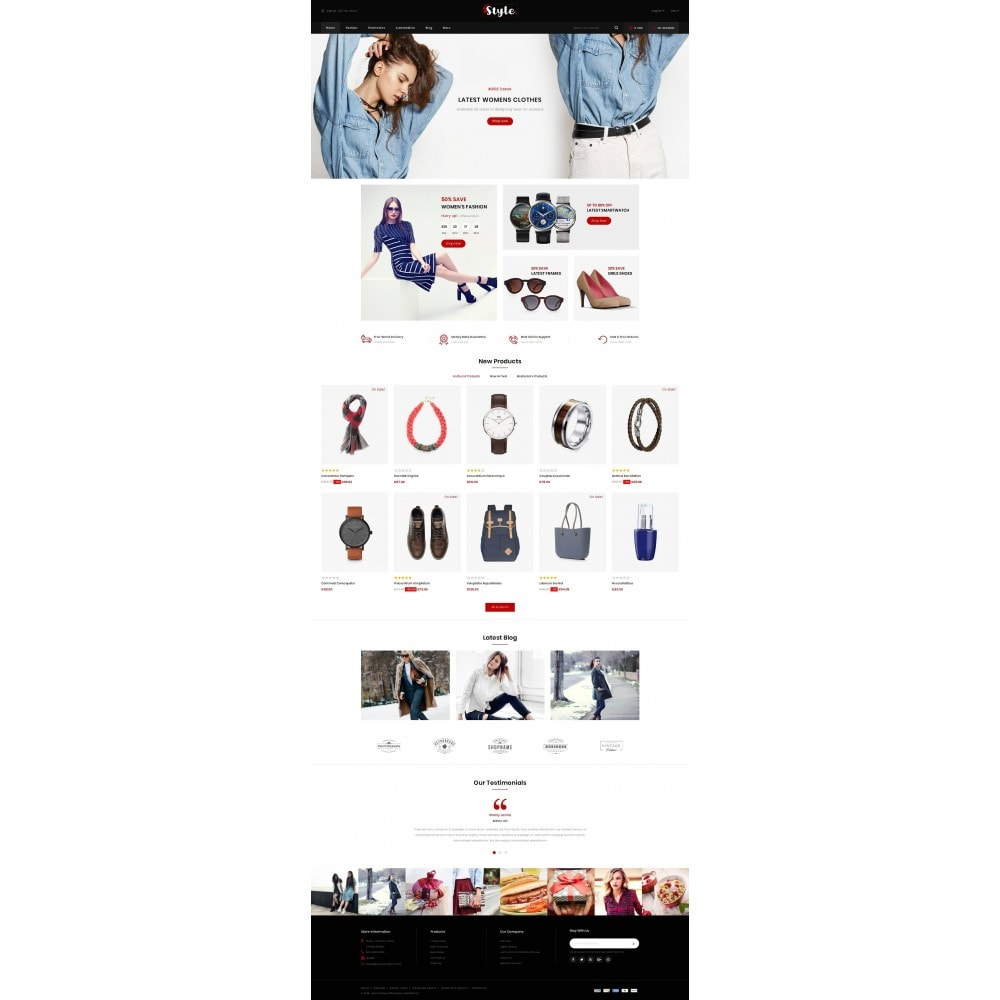 theme - Moda & Calçados - Style Accessories Store - 2