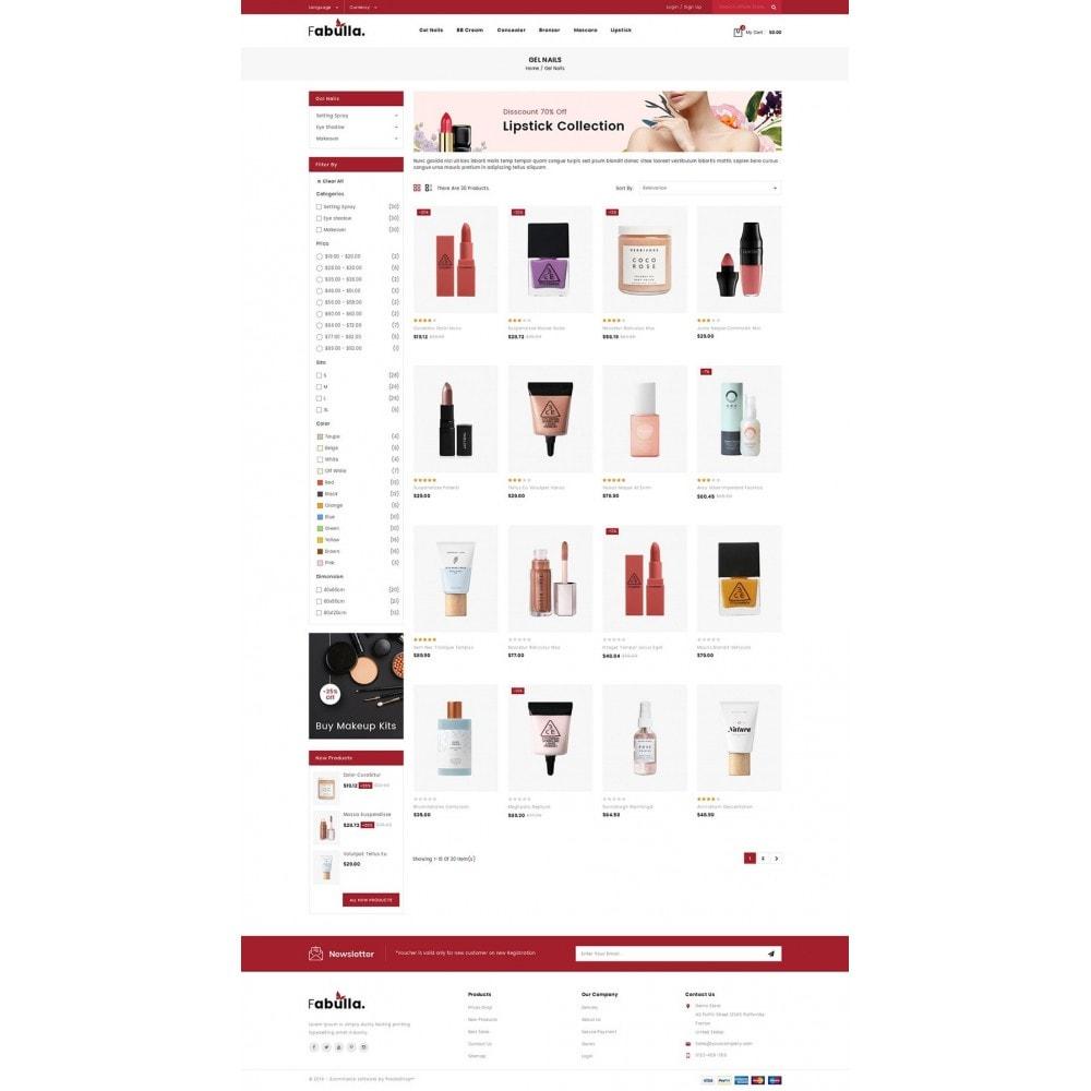 theme - Saúde & Beleza - Fabulla - Cosmetic Shop - 3