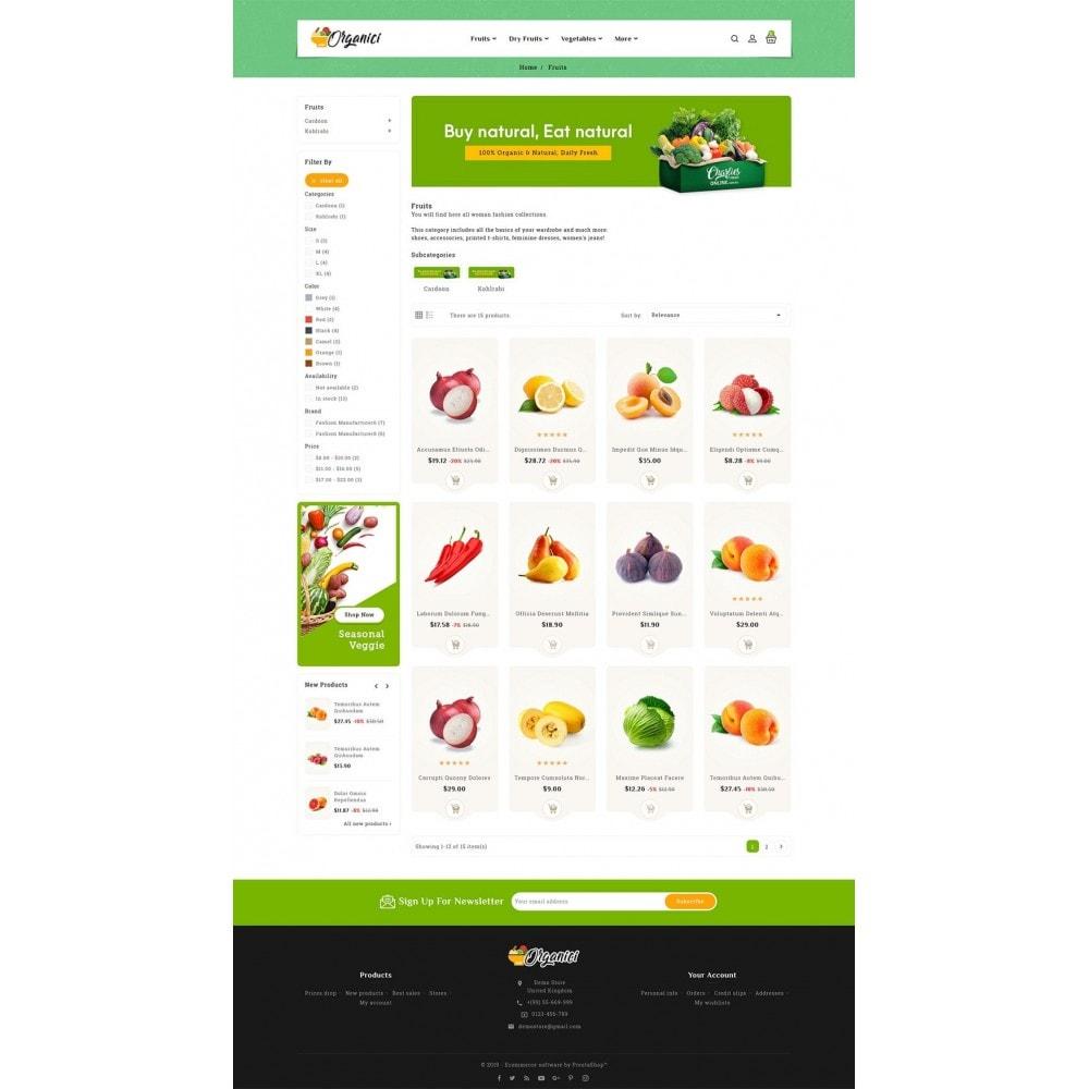 theme - Food & Restaurant - Organics - Vegetables & Fresh Fruits - 3