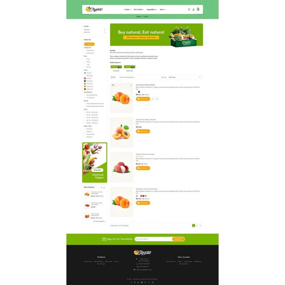 theme - Food & Restaurant - Organics - Vegetables & Fresh Fruits - 4